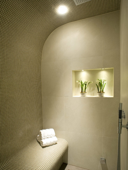 Luxury Lighted TubShower Niche