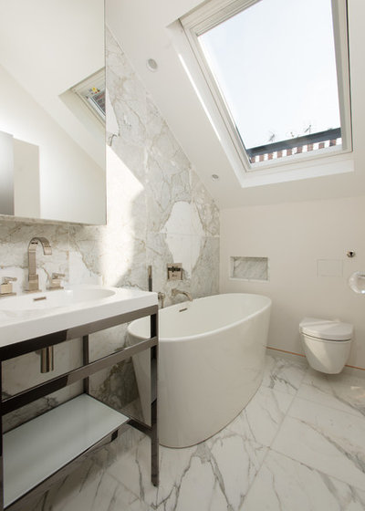 Contemporary Bathroom by as well as Architects
