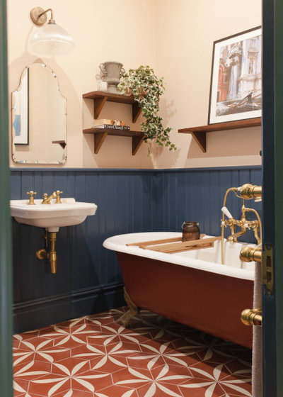 Transitional Bathroom by Brooke Copp-Barton | Home Interior Design