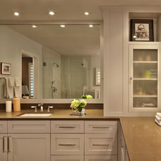 Contemporary Bathroom by Susie Johnson Interior Design, Inc.