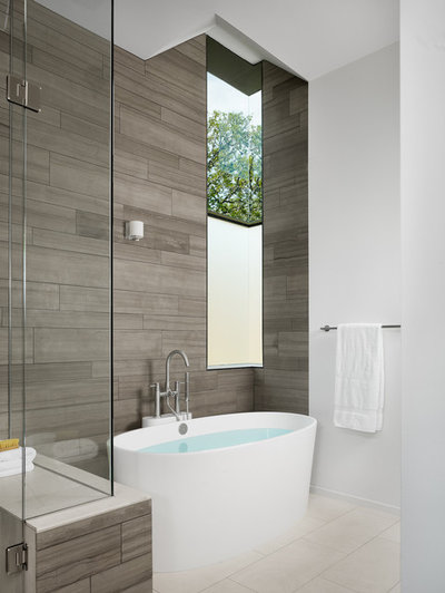 10 jolies baignoires pour tirer parti d\'une petite salle de bains