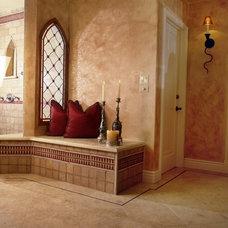 Mediterranean Bathroom by Bernard Company