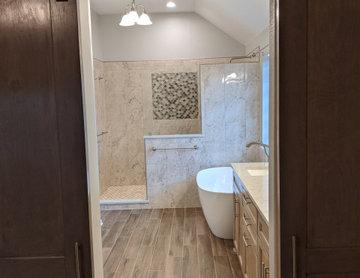 Romanesque Luxury Master Bathroom