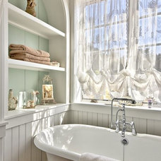 Farmhouse Bathroom by Schmidt Custom Homes