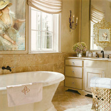 Traditional Bathroom by Adelene Keeler Smith Interior Design