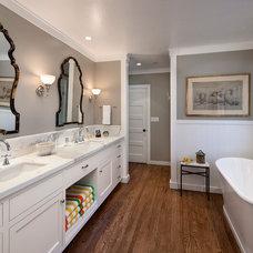 Traditional Bathroom by DD Ford Construction