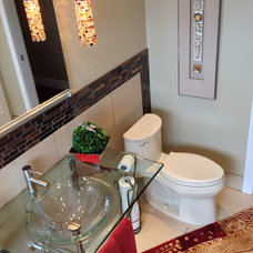 Eclectic Bathroom by Wow Great Place