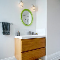 modern bathroom by Roundabout Studio Inc.