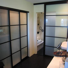 Asian Bathroom by The Sliding Door Company Canada