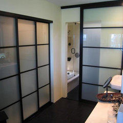 asian bathroom by The Sliding Door Company Vancouver