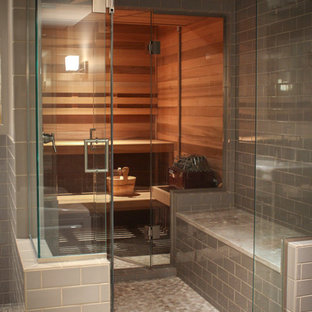 Свежая идея для дизайна: ванная комната в восточном стиле - отличное фото интерьера