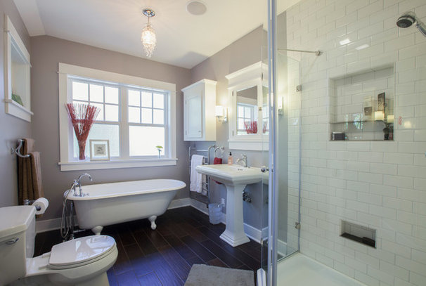 Traditional Bathroom by S2 Builders
