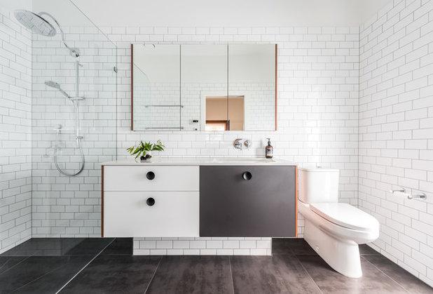 Contemporary Bathroom by Susan Cleveland Design