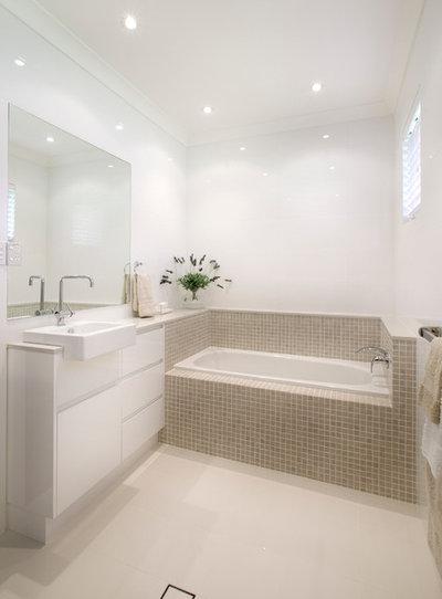 Modern Bathroom by Art of Kitchens Pty Ltd