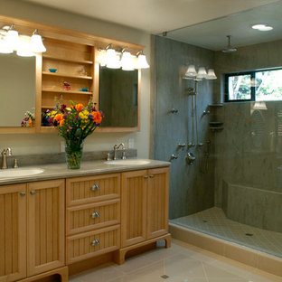 Roseville Corian Master Bathroom