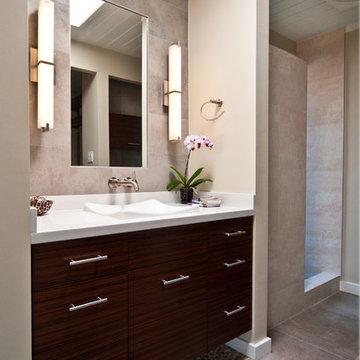 Rosewood Bathroom By Yana Mlynash