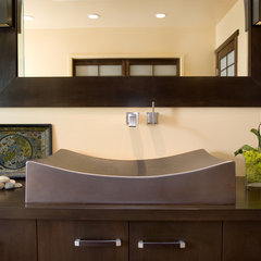 asian bathroom by Ashley Roi Jenkins Design, LLC