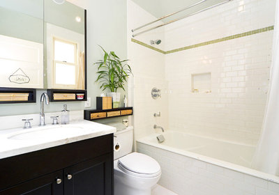 Tile Tips For Baths On A Budget - 7 x6 bathroom design