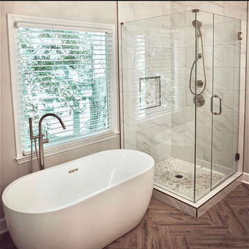Roswell Master Bath Remodel