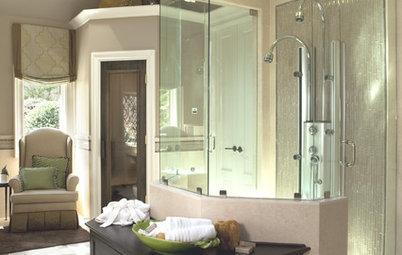 Mamparas de ducha para la casa: 10 opciones originales