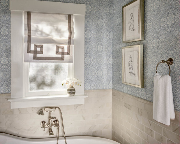 Room Of The Day A Luxury Master Bathroom With A Historic Feel