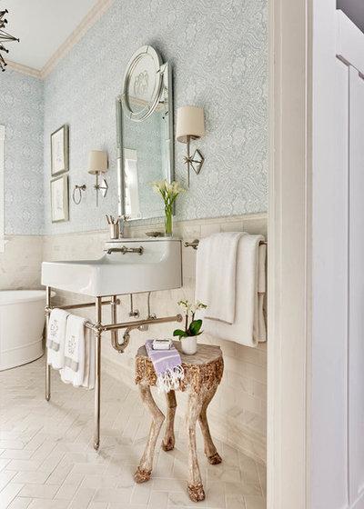 Luxury Bathroom by Lisa Mende Design