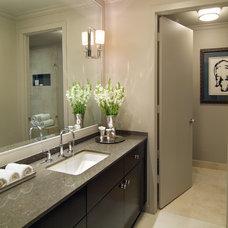 Contemporary Bathroom by Montgomery Roth Architecture & Interior Design