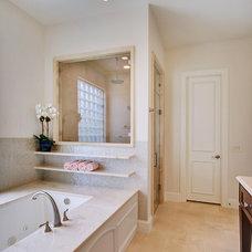 Transitional Bathroom by Elite Remodeling