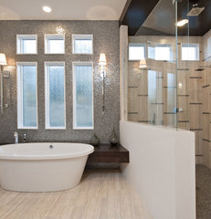 contemporary bathroom by PPDS