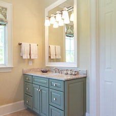 Traditional Bathroom by Dynamic Kitchen and Interiors