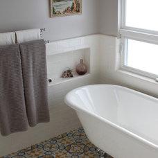 Traditional Bathroom by Design Vidal