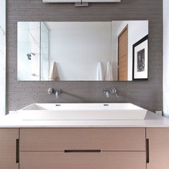 contemporary bathroom by Shirley Meisels