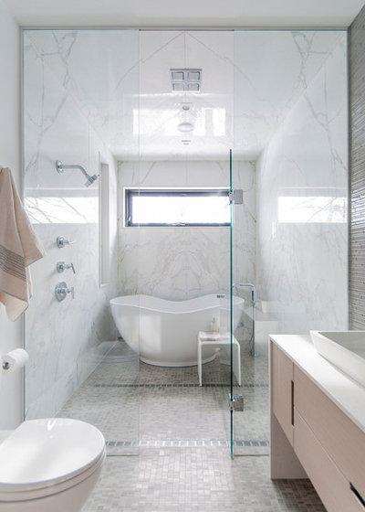 Modern Badezimmer by Shirley Meisels