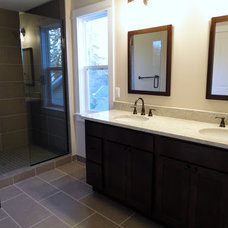 Traditional Bathroom by Troy Tile & Stone