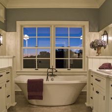 Traditional Bathroom by Kieran J. Liebl,  Royal Oaks Design, Inc. MN