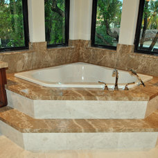 Traditional Bathroom by Marble of the World