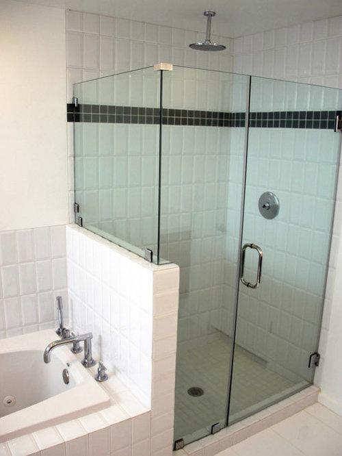 Salles de bains et wc r tro avec des portes de placard for Porte de placard salle de bain