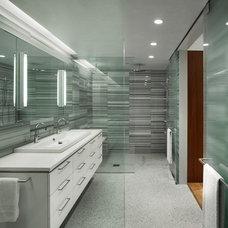 Modern Bathroom by Verner Architects