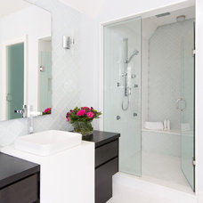 Contemporary Bathroom by Jodie Rosen Design