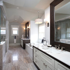 Traditional Bathroom by Riverview Custom Homes
