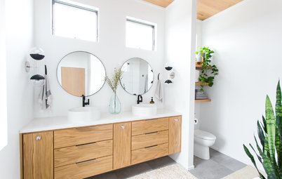 The Right Height for Your Bathroom Sinks, Mirrors and More