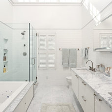 contemporary bathroom by Harry Braswell Inc.