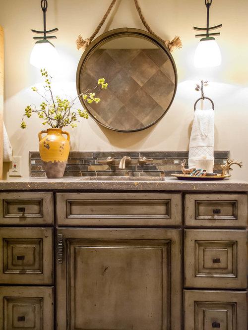 Adirondack bathroom home design ideas pictures remodel for Adirondack bathroom design