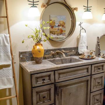 Rustic Adirondack Bathroom