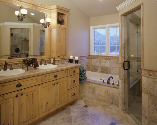 Rustic Bathroom Design Ideas Remodels Photos With Tile
