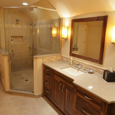 Traditional Bathroom by The Kitchen Master