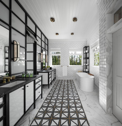 Transitional Bathroom by Vogue furniture