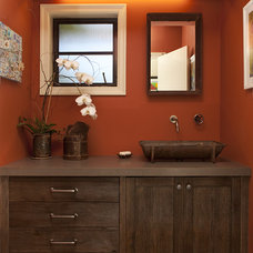 Rustic Bathroom by Artistic Designs for Living, Tineke Triggs