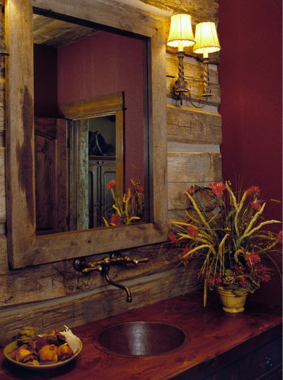 Cute Rustic Bathroom Rustic Bathroom