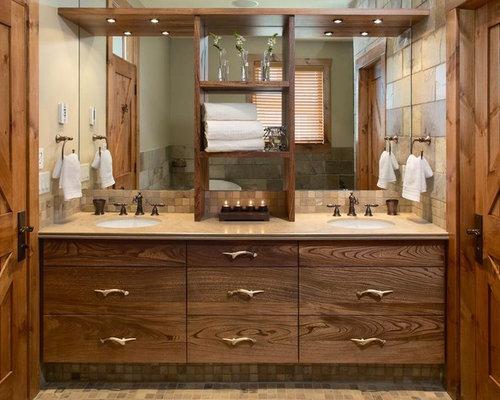 Rustic Master Bath Houzz